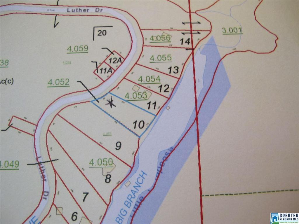 LOT 10 Luther Dr Unit 10 Wedowee, AL 36278 - MLS #: 815491